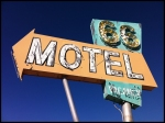 66 Motel Sign in Needles, CA