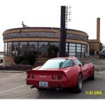 Kent's Vette at the Tri-Country Restaurant, Villa Ridge, MO